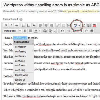 wordpress-spellcheck