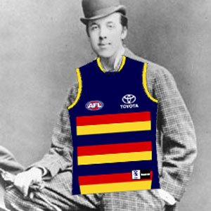 Is Taylor Walker the Oscar Wilde of the Adelaide Crows?