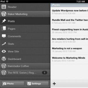 Wordpress app - publish blog articles on the go