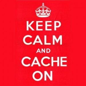 Keep calm and wp super cache on