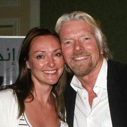 Richard Branson and Helen