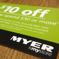 Here you can find the latest Myer voucher codes