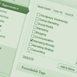 wordpress-category-menus Photo Steve Davis
