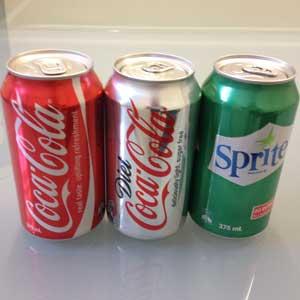 coca cola product range example