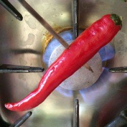 roasting-chilli Photo Steve Davis