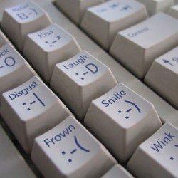 smiley-keyboard Photo Marcin Wichary via Flickr