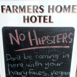 no-hipsters blogging tips Photo Steve Davis