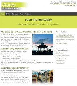 wordpress-starter-package