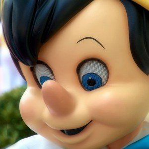 Pinocchio-sniffing Photo by Joe Penniston via Flickr