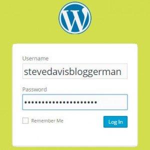wordpress-chrome-login