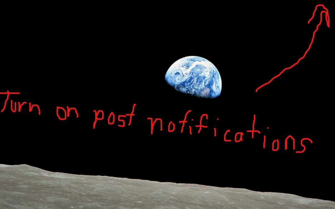 The Instagram algorithm and the little red dot that's about to drive the pale blue dot crazy