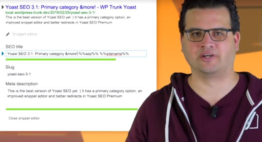 WordPress SEO maintenance tips: Are you using the Yoast snippet editor and primary categories?